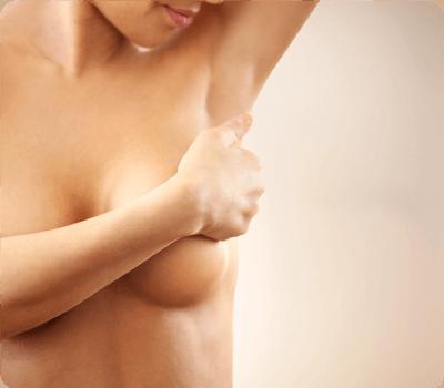Brustform spitz